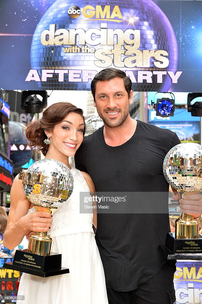 """Dancing With The Stars"" Season 18 Finalists Visit ABC's ""Good Morning America"""