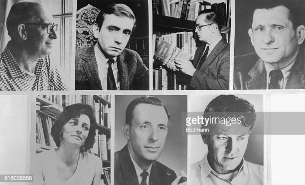 Winners of the 1967 Pulitzer Prizes in Letters and Music are from left Fiction The Fixer by Bernard Malamud Drama A Delicate Balance by Edward Albee...