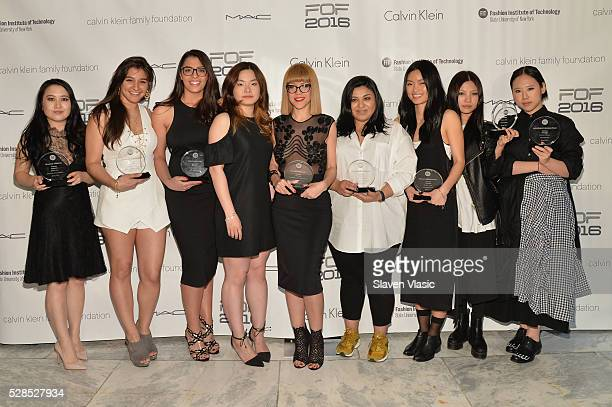 Winners of the FOF Critic Awards Jenny Seo Stephanie Ali Rosemary Peone Kualing Ko Namibia Viera Martinez Cemille Simsek Emily Jung Samju Seo and...