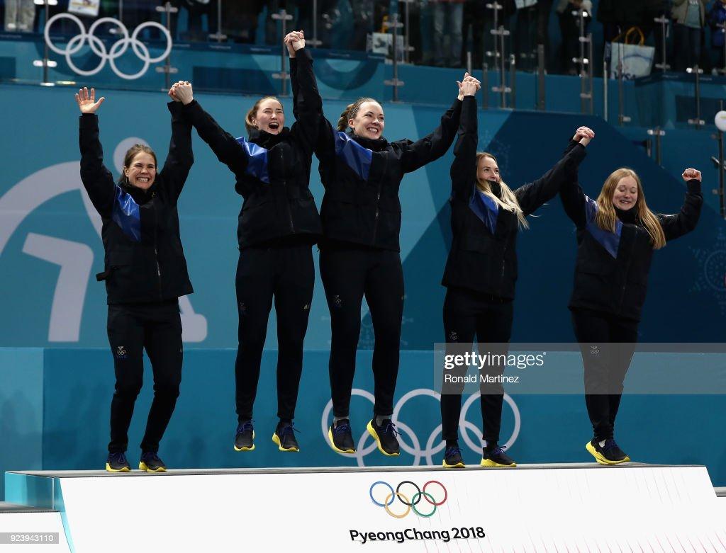 Curling - Winter Olympics Day 16 : Fotografía de noticias