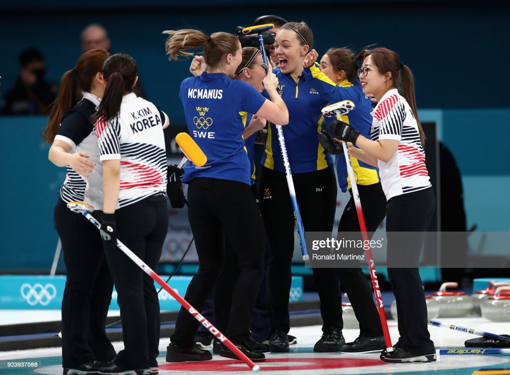 Curling - Winter Olympics Day 16 : News Photo