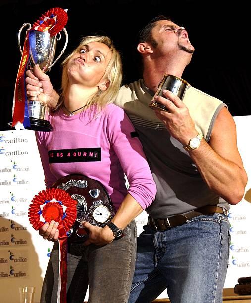 UK World gurning championships Photos and Images | Getty ...