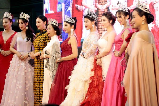 21st Mrs  Globe Pageant Launches In Beijing Photos and Images
