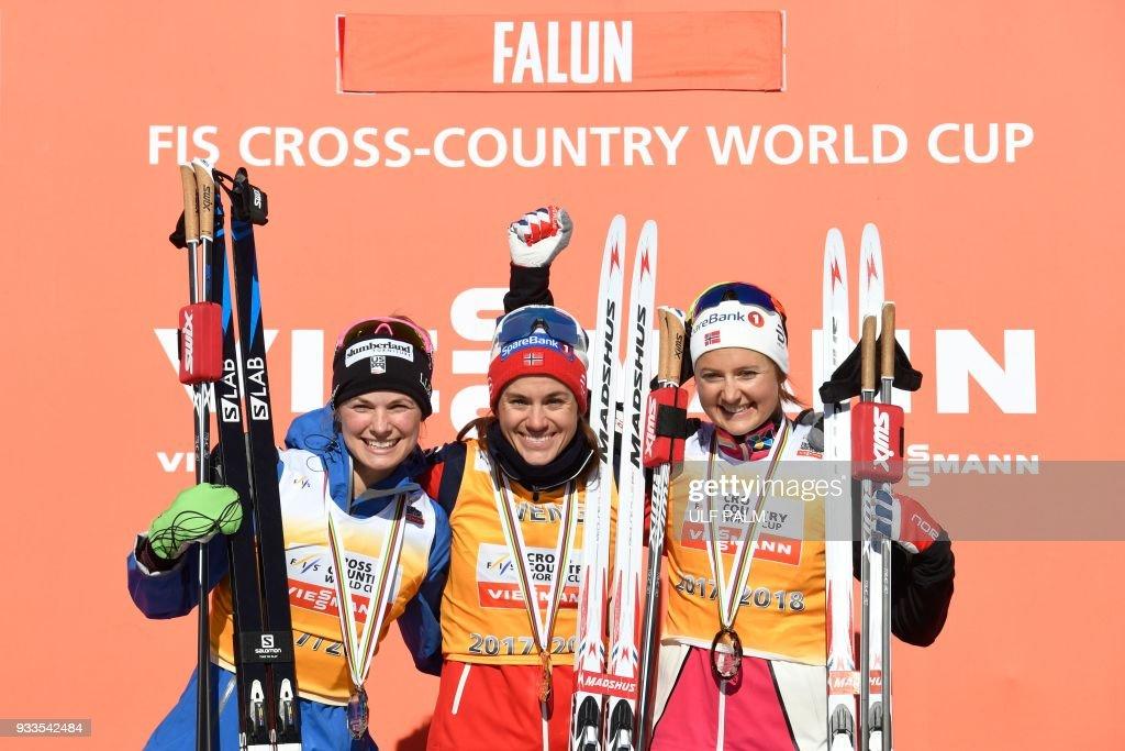 SKI-NORDIC-CCOUNTRY-WOMEN-OVERALL : News Photo