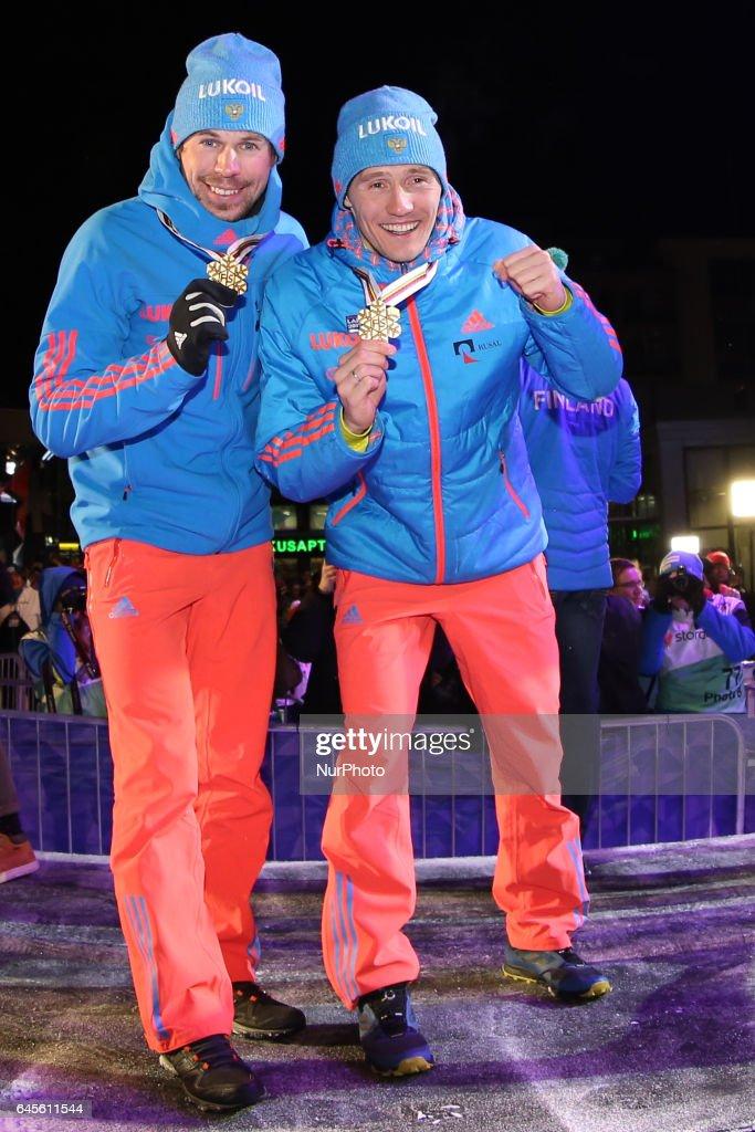 FIS Nordic World Ski Championships - Medal ceremony