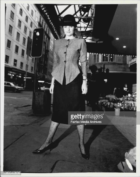 Winners Sun/Centrepoint Fashion Spotter conesstWinner Nikki James amp Runner up Lisa Whittaker June 05 1987