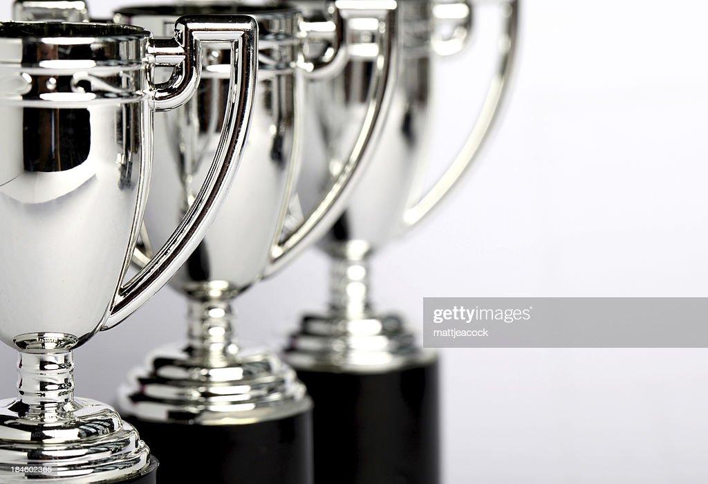 Winners Trophies : Stock Photo