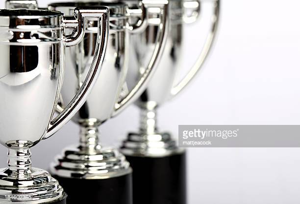 winners trophies - award stock pictures, royalty-free photos & images