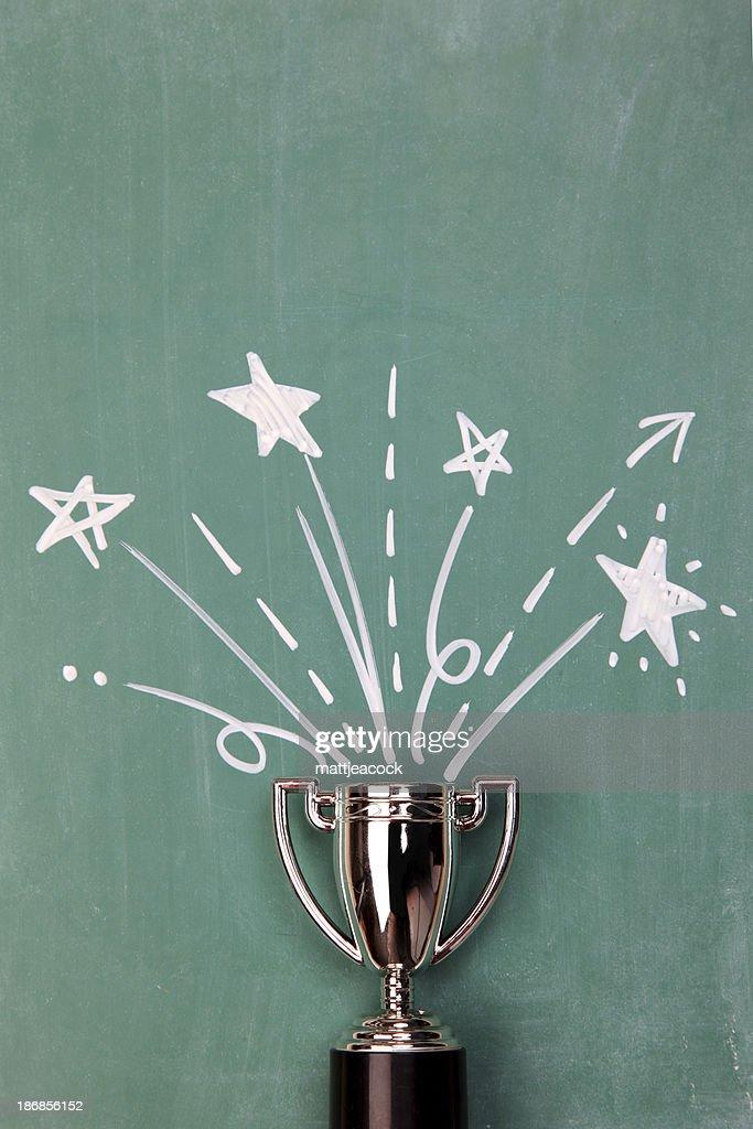Winners Trophy : Stock Photo