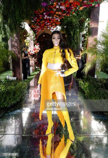 Winnie Harlow attends 2020 Roc Nation THE BRUNCH on January 25 2020 in Los Angeles California