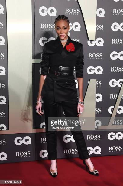 Winnie Harlow attends GQ Men Of The Year Awards 2019 in association with HUGO BOSS at Tate Modern on September 03, 2019 in London, England.