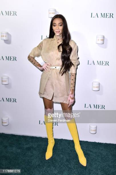 Winnie Harlow attends La Mer by Sorrenti Campaign at Studio 525 on October 03, 2019 in New York City.