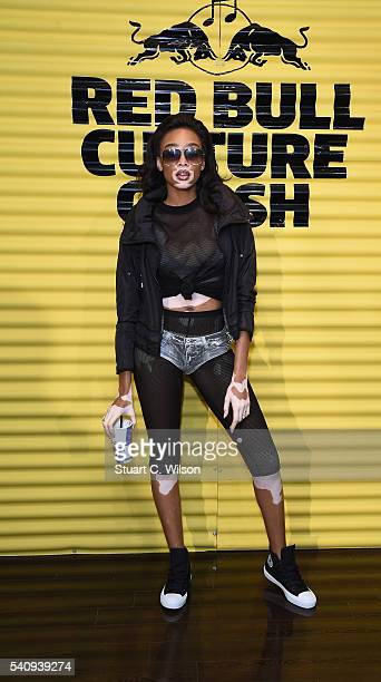 Winnie Harlow attends Red Bull Culture Clash at the O2 Arena on June 17 2016 in London England