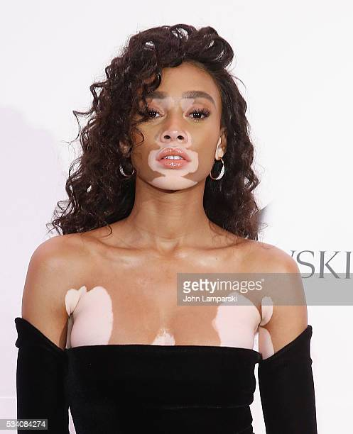 Winnie Harlow attends Swarovski #bebrilliant on May 24 2016 in New York City
