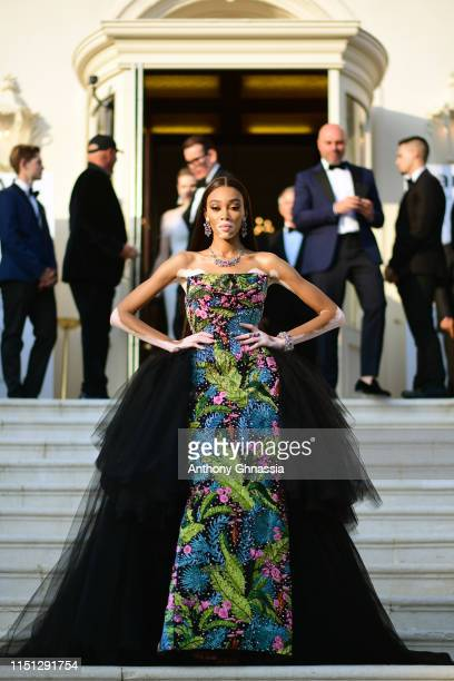 Winnie Harlow attends the amfAR Cannes Gala 2019 at Hotel du Cap-Eden-Roc on May 23, 2019 in Cap d'Antibes, France.