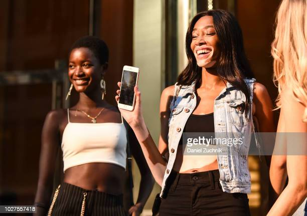 Winnie Harlow attends the casting for the 2018 Victoria's Secret Show in Midtown on September 5 2018 in New York City