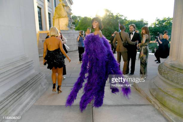 Winnie Harlow attends the CFDA Fashion Awards at the Brooklyn Museum of Art on June 03 2019 in New York City