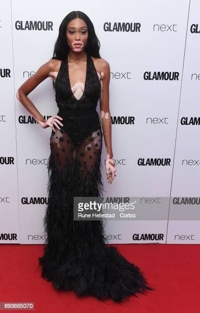 Winnie Harlow attends the Glamour Women of The Year awards 2017 at Berkeley Square Gardens on June 06 2017 in London England