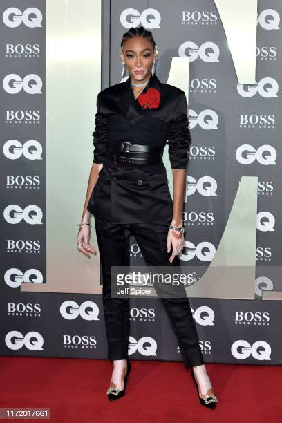 Winnie Harlow attends the GQ Men Of The Year Awards 2019 at Tate Modern on September 03 2019 in London England
