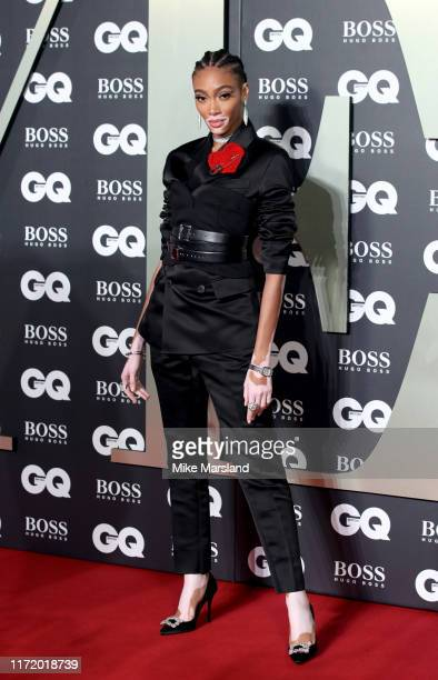Winnie Harlow attends the GQ Men Of The Year Awards 2019 at Tate Modern on September 03, 2019 in London, England.