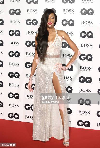 Winnie Harlow attends the GQ Men Of The Year Awards at Tate Modern on September 5 2017 in London England