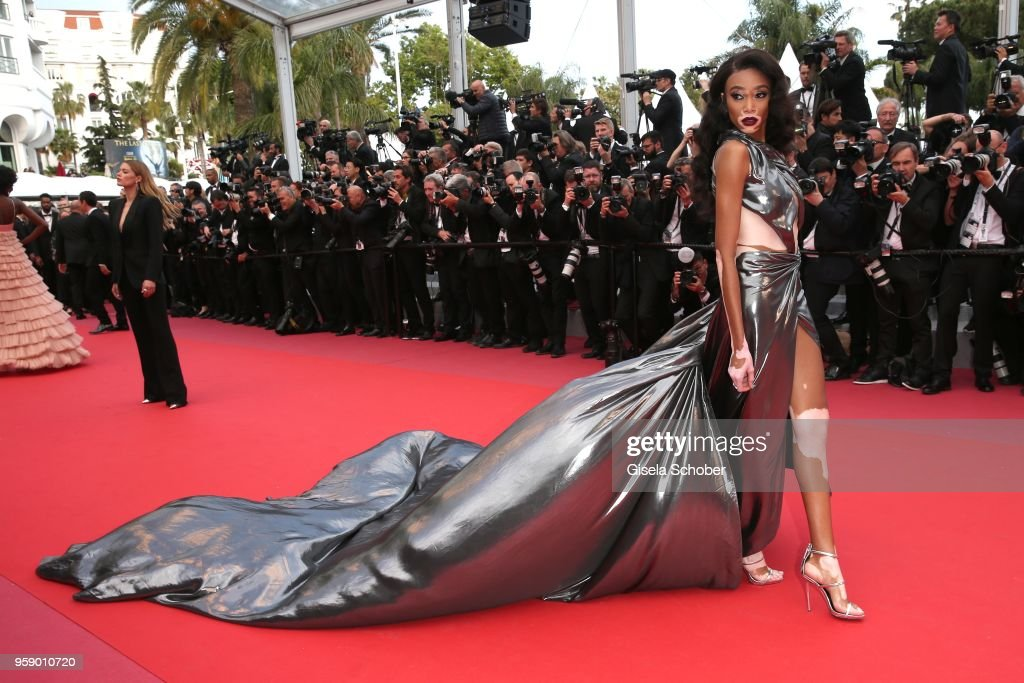 Winnie Harlow attends the screening of 'Solo: A Star Wars Story' during the 71st annual Cannes Film Festival at Palais des Festivals on May 15, 2018 in Cannes, France.