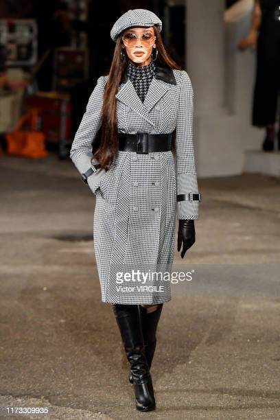 Winnie Harlow walks the runway at the Tommy Hilfiger Ready to Wear Fall/Winter 2019 fashion show during New York Fashion Week on September 08, 2019...