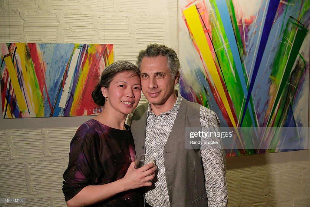 Winnie Lee and Lester Tour attend FilmRise Celebrates new office in Industry City, Brooklyn at FilmRise on February 25, 2015 in Brooklyn, New York.