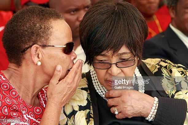 Winnie MadikizelaMandela and Dimpho Hani mark the 18th anniversary of the assassination of communist and struggle stalwart Chris Hani on April 10...
