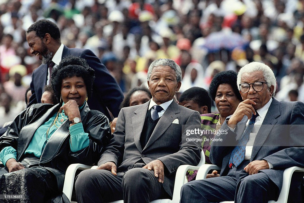Mandela In Soweto : News Photo