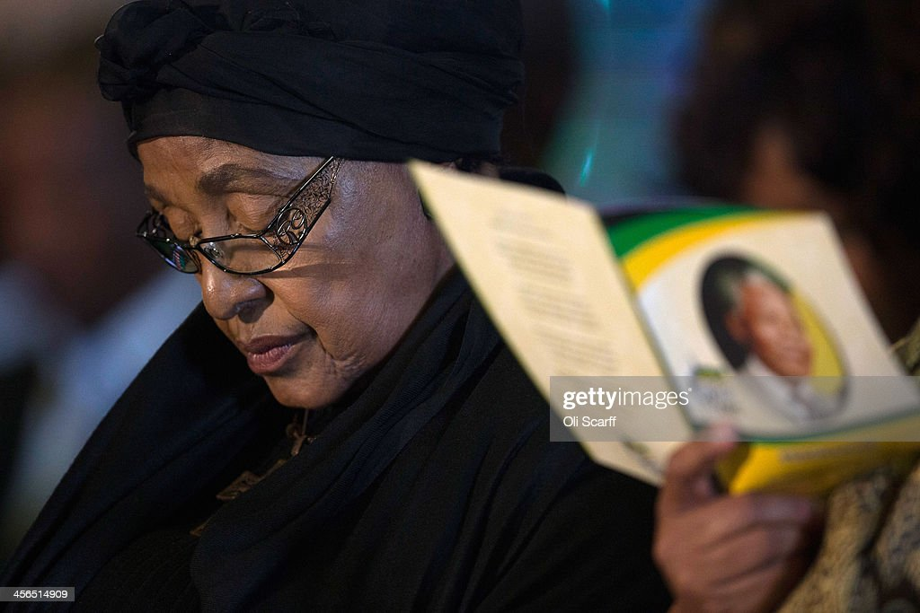 ANC-led Alliance Official Send Off Ceremony In Honour of Nelson Mandela : News Photo