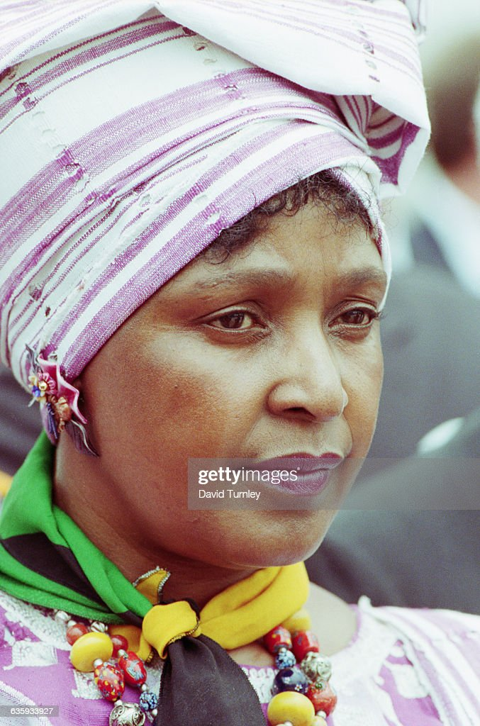 Winnie Mandela : News Photo
