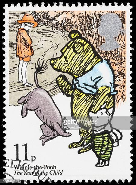 UK Winnie-the-Pooh postage stamp