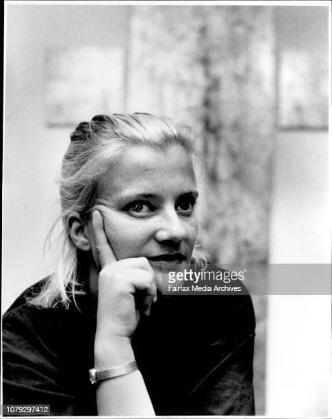 Winning artist Lise Floistadreligious contrasts December 8 1988