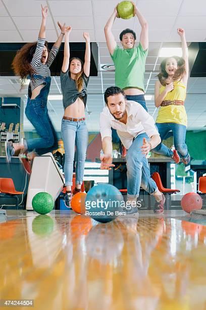 Winning Bowling Team