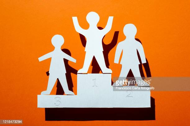 winning concept - winners podium stock pictures, royalty-free photos & images