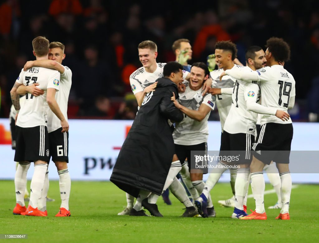 Netherlands v Germany - UEFA EURO 2020 Qualifier : Nachrichtenfoto