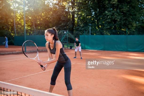 equipe vencedora - tênis esporte de raquete - fotografias e filmes do acervo