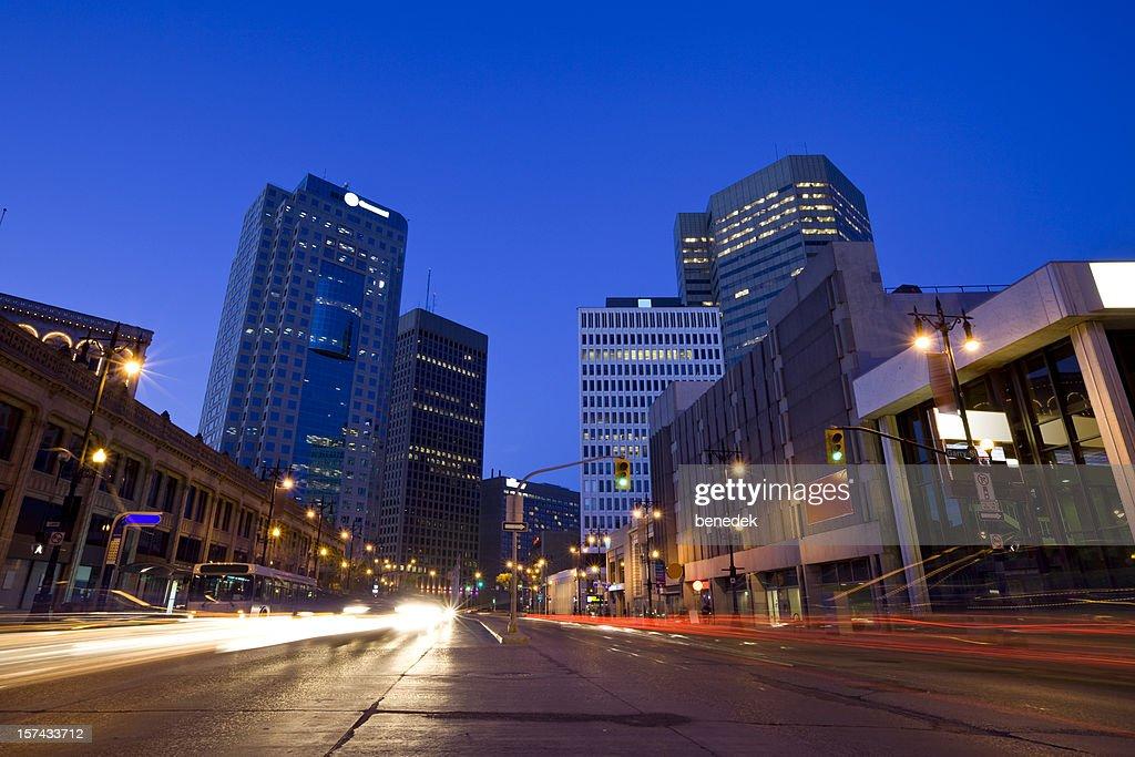 Winnipeg, Canada : Stock Photo