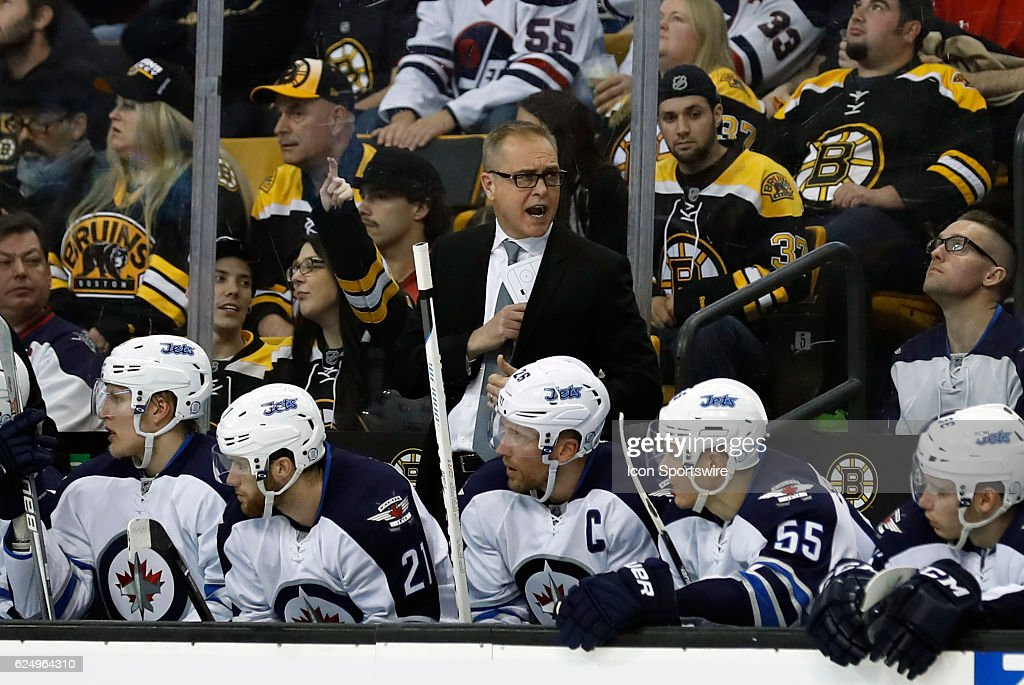 NHL: NOV 19 Jets at Bruins : News Photo