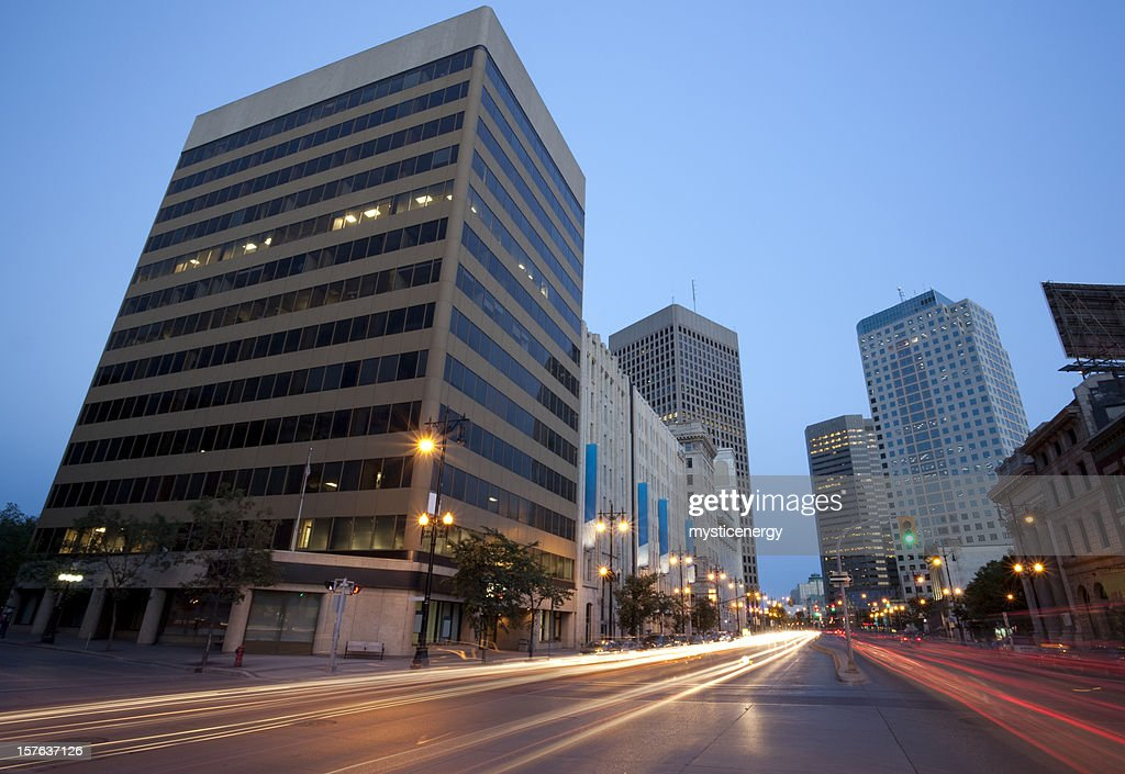 Winnipeg looking South : Stock Photo