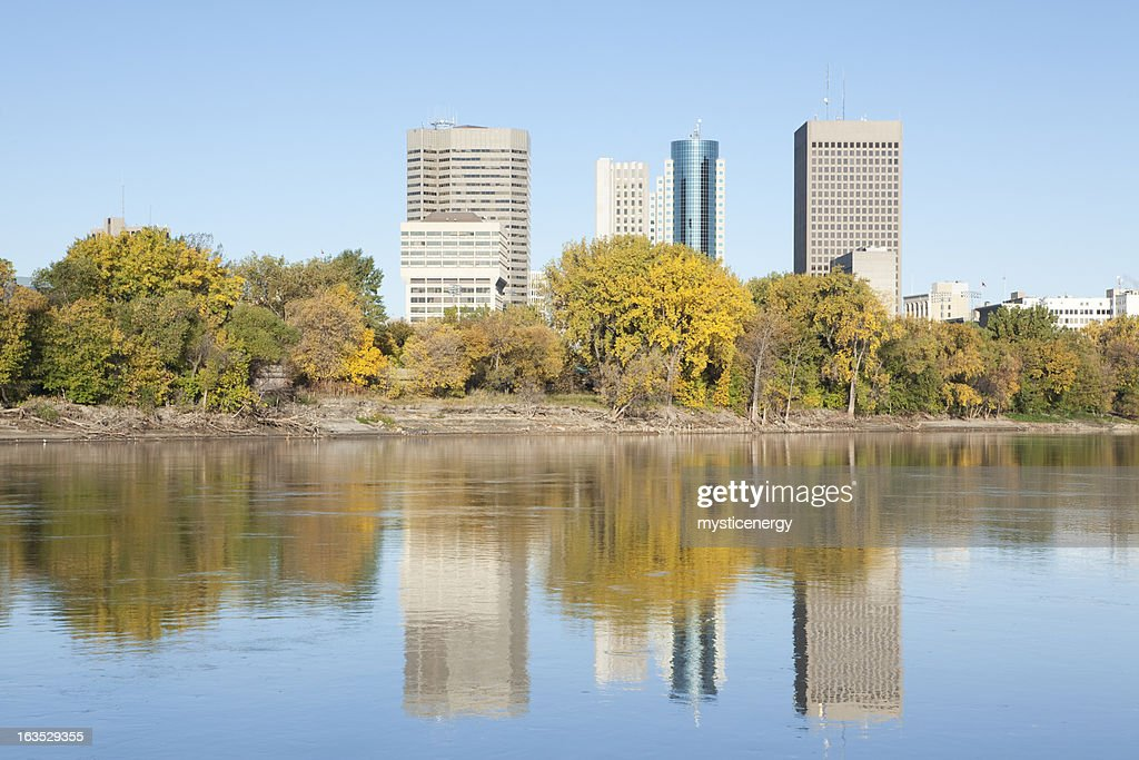 Winnipeg Manitoba : Stock Photo