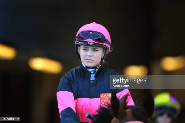 Winona Costin during Sydney Racing at Royal Randwick Racecourse on January 20 2018 in Sydney Australia
