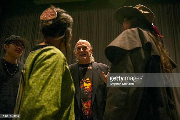 Winona LaDuke an American Indian Activist and former Green Party vice presidential candidate and former Governor of Minnesota Jesse Ventura chat...