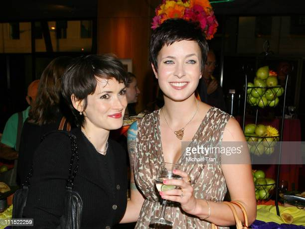 Winona Ryder and Diablo Cody attend the Academy Salute to OscarWinning Filmmaker Hal Ashby held at the Academy of Motion Picture Arts and Sciences on...