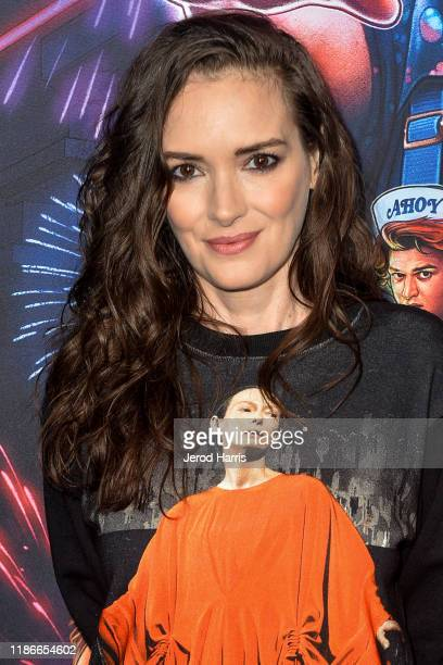 Winona Ryder arrives at Netflix's 'Stranger Things' Season 3 Photocall at Linwood Dunn Theater at the Pickford Center for Motion Study on November...