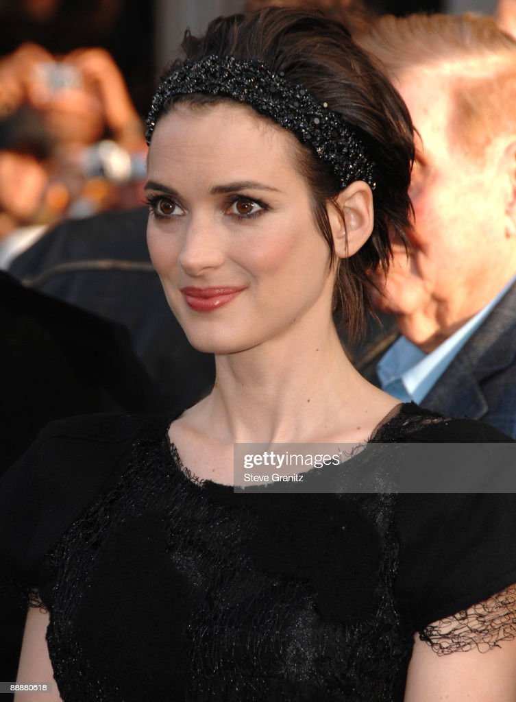Winona Ryder arrives at the Los Angeles premiere of 'Star Trek' at the Grauman's Chinese Theater on April 30, 2009 in Hollywood, California.