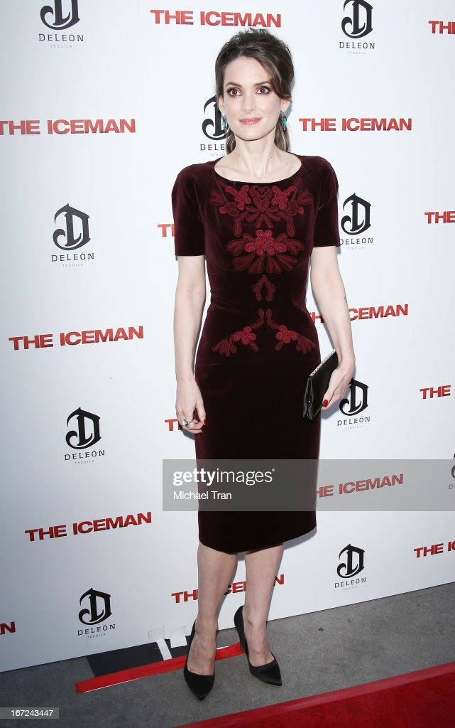 """The Iceman"" - Los Angeles Premiere : News Photo"