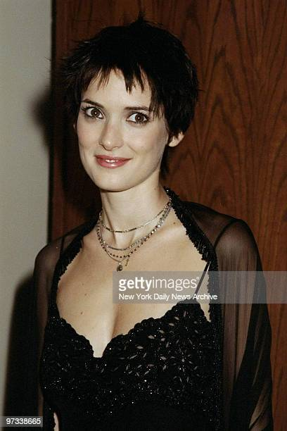 Actress Winona Ryder arrives at the Los Angeles premiere