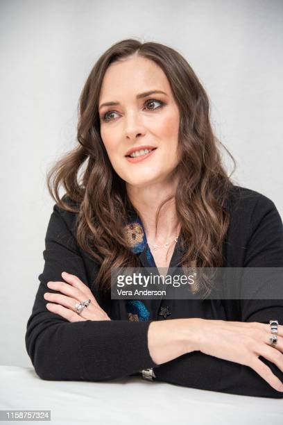 "Winona Ryder at the ""Stranger Things"" Press Conference at The London Hotel on June 27, 2019 in West Hollywood, California."